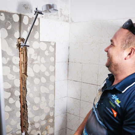 Leaking Shower Pacific Pines